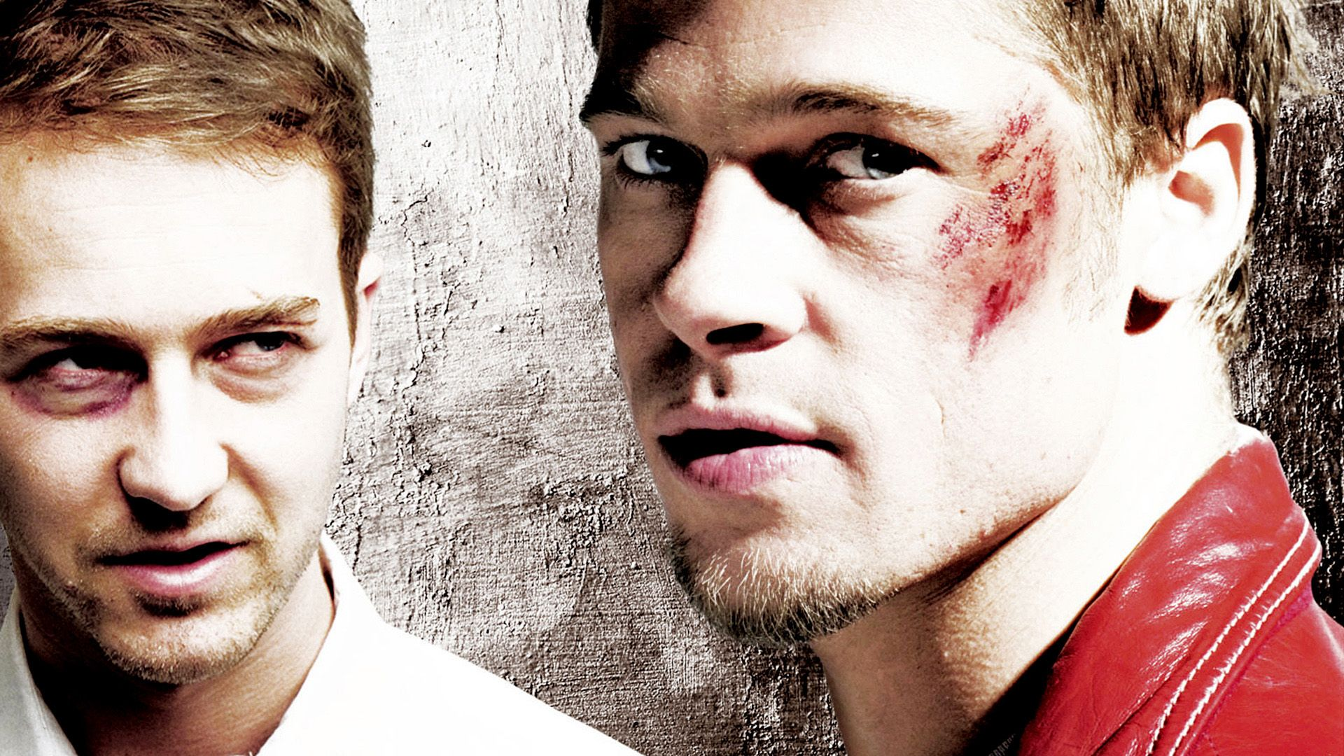 an analysis of the characters in the movie the fight club The revelation at the end of fight club that tyler durden was merely a  but  what if you could watch the movie without brad pitt's character.