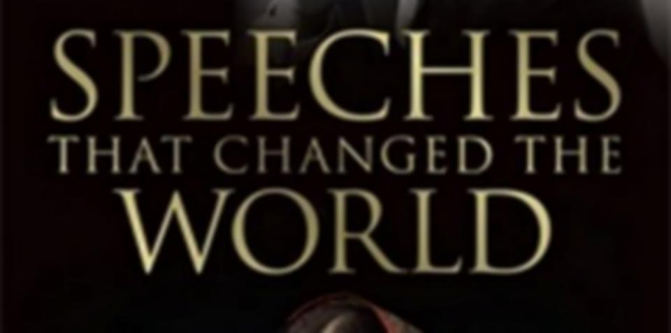 speeches that changed the world book pdf